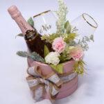 Popklion za venčanje sa čašama Mr i Mrs
