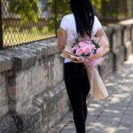Buket sa roze ružama Buket sa roze ružama