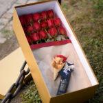 cveće u kutiji – ruže u kutiji