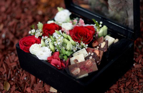 cveće u kutiji