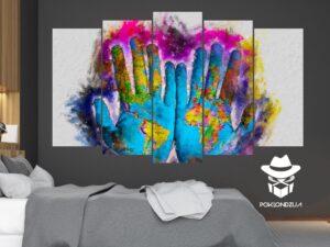 Slika iz delova Svet na dlanu - slike iz delova