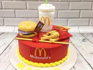 torta za rođendan McDonalds