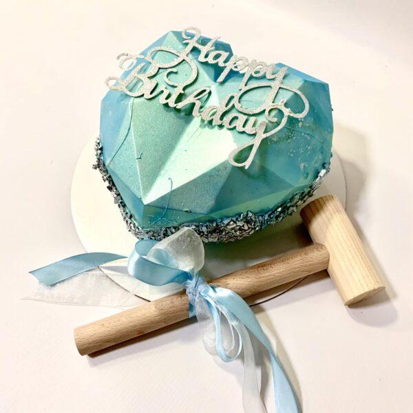 torta za rodjendan u obliku srca