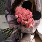 buket sa roze ružama – poklondzija – gift shop – online cvećara – dostava cveća beograd 24/7