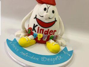 torta za rođendan - Kinder Jaje torta za muškarca - dostava torti beograd - poklondžija online gift shop