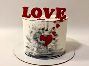 torta za dan zaljubljenih