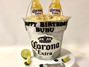 torta kao kibla corona piva - - dostava torti beograd - poklondzija online giftshop
