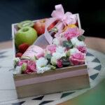 Voćni aranžman sa penušavim vinom - Kovačević Fresco Rose