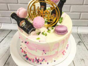 baileys torta za rodjendan za devojke - bejliz - dostava torti beograd