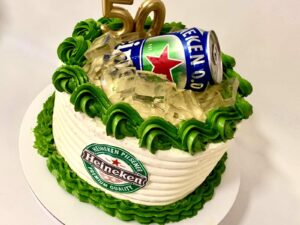 heineken torta 2 - za 50.rodjendan - za muškarca - dostava torti beograd