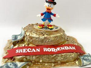 torta za rodjendan - baja patak - za decu - dostava torti beograd