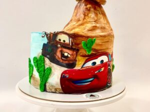 torta za rodjendan - cars crtani - za decu - za rodjendan - dostava torti beograd
