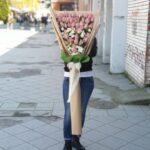 XXL Buket sa roze ružama - Dostava cveća Beograd - Poklondzija